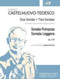 Mario Castelnuovo-Tedesco: Two Sonatas for Trumpet and Piano Op. 179