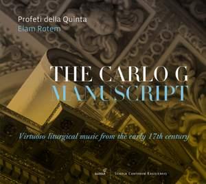 The Carlo G Manuscript Product Image