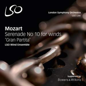 Mozart: Serenade No. 10 in B flat major, K361 'Gran Partita'