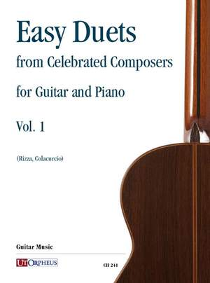 Easy Duets from Celebrated Composers   Volume 1