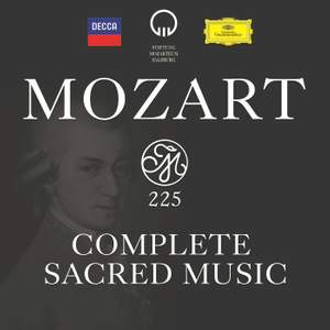Mozart 225: Complete Sacred Music Product Image
