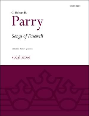 Parry, C. Hubert H.: Songs of Farewell