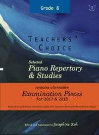 Teachers' Choice Grade 8 2017-2018