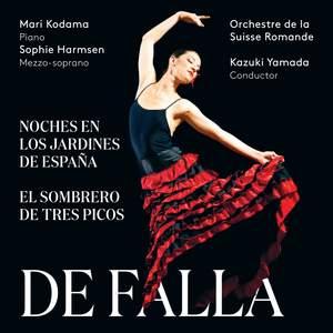 De Falla: Noches en los jardines de Espana; El sombrero de tres picos Product Image