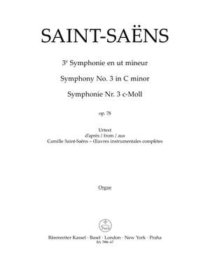 Saint-Saëns, Camille: Symphony no. 3 in C minor op. 78 Product Image
