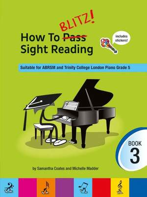 How To Blitz! Sight Reading Book 3 Product Image