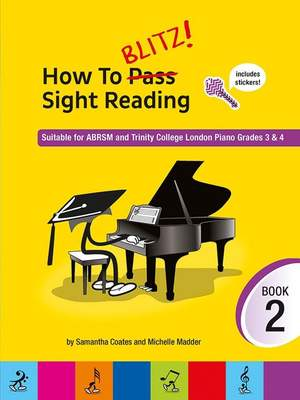 How To Blitz! Sight Reading Book 2 Product Image