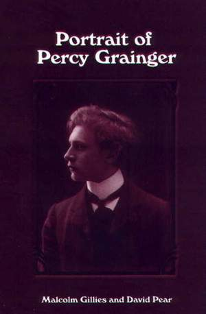 Portrait of Percy Grainger