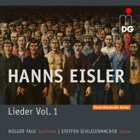 Hanns Eisler: Lieder Und Balladen Vol. 1