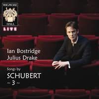 Songs by Schubert 3