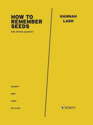 Lash, H: How to Remember Seeds