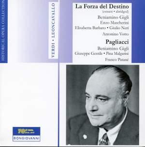 Verdi: La forza del destino (abridged) & Leoncavallo: Pagliacci