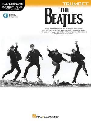 The Beatles - Instrumental Play-Along Trumpet Product Image