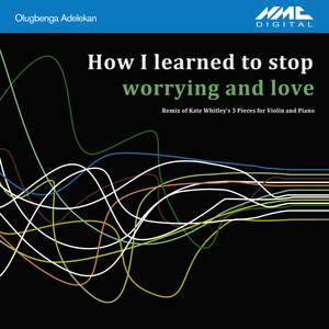 How I Learned to Stop Worrying and Love (Olugbenga Adelekan Remix of Kate Whitley's 3 Pieces for Violin & Piano)