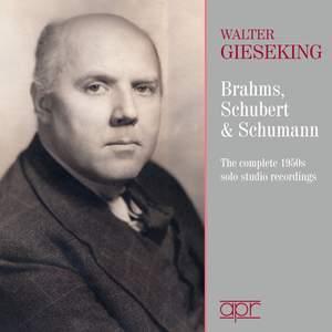 Brahms, Schumann & Schubert:The 1950s Solo Studio Recordings