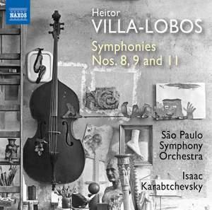 Villa-Lobos: Symphonies Nos. 8, 9 and 11 Product Image