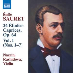 Sauret: 24 Études-Caprices, Op. 64, Vol. 1 Product Image