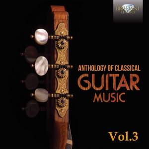 Anthology of Classical Guitar Music, Vol. 3