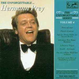 Unforgettable Vol. 4 ... Hermann Prey