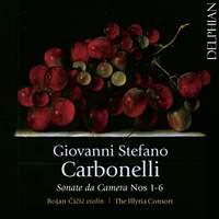 Carbonelli: Sonate da Camera Nos. 1-6