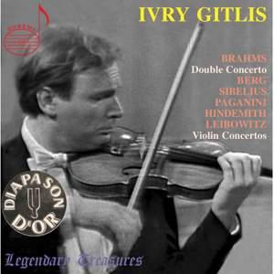 Ivry Gitlis Live: Violin Concertos