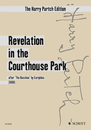 Partch, H: Revelation in the Courthouse Park