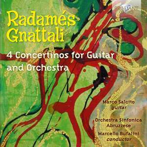 Gnattali: 4 Concertinos for Guitar and Orchestra Product Image