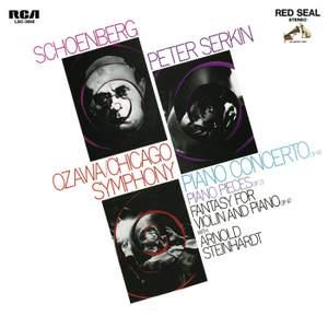 Schoenberg: Piano Concerto, 5 Piano Pieces, & Phantasy, Op. 47 Product Image