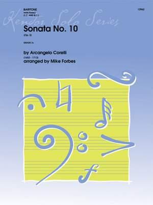 Corelli, A: Sonata No. 10 op. 5