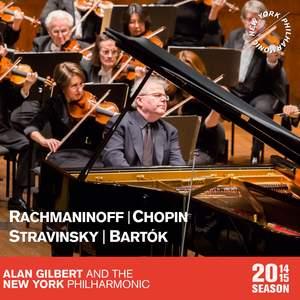 Rachmaninov, Chopin, Stravinsky & Bartók