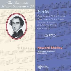 The Romantic Piano Concerto 72 - Cipriani Potter Product Image
