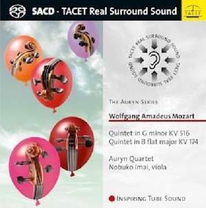 Mozart: String Quintets K516 & K174