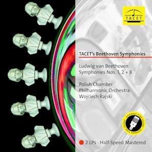 Beethoven: Symphony Nos. 1, 2 & 8 - Vinyl Edition