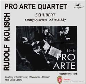 Schubert: String Quartets Nos. 14 & 15