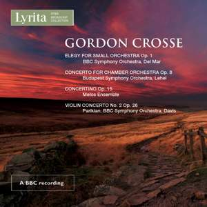 Crosse: Orchestral Works Product Image
