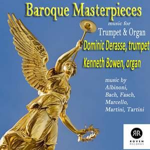 Baroque Masterpieces - Music For Trumpet & Organ