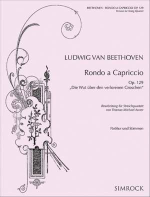 Beethoven, L v: Rondo a capriccio op. 129