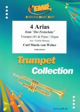 Carl Maria von Weber: 4 Arias