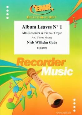 Niels Wilhelm Gade: Album Leaves No. 1