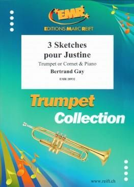 Bertrand Gay: 3 Sketches Pour Justine