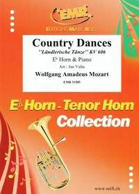 Wolfgang Amadeus Mozart: Country Dances