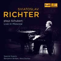 Sviatoslav Richter plays Schubert 1949-1963
