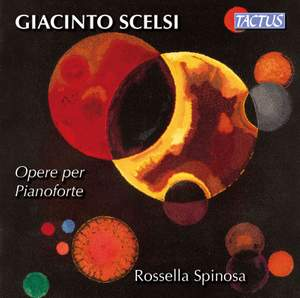 Giacinto Scelsi: Works for Piano Product Image