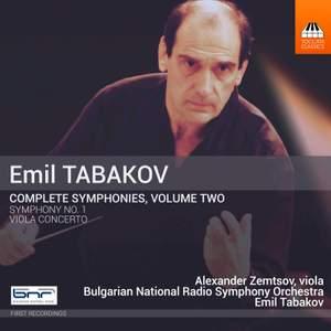 Emil Tabakov: Complete Symphonies, Vol. 2