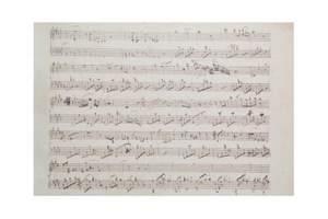 Chopin, F: Lento con gran espressione in C sharp minor Facsimile