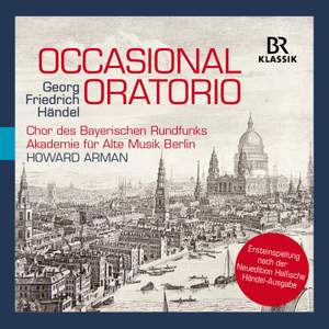 Handel: The Occasional Oratorio, HWV62 Product Image