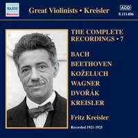 Kreisler: The Complete Recordings Volume 7