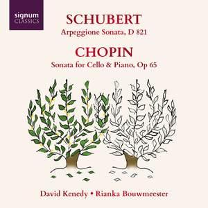 Schubert: Arpeggione Sonata and Chopin: Cello Sonata Product Image