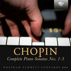 Chopin: Complete Piano Sonatas Nos. 1-3 Product Image