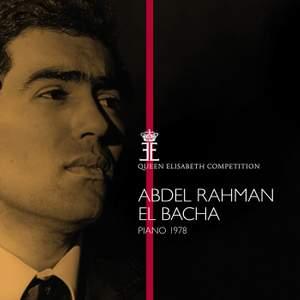 Queen Elisabeth Competition, Piano 1978: Abdel Rahman El Bacha Product Image